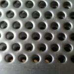 Chapa metálica perfurada